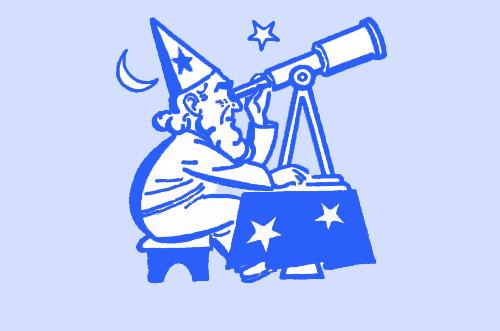 telescope man